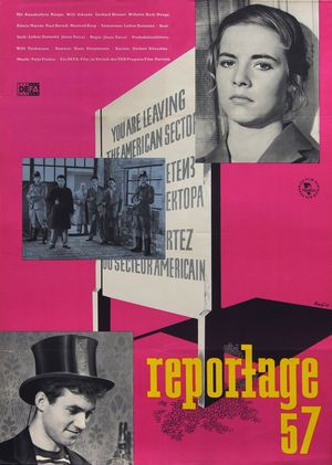 "Film poster for ""Reportage 57"""