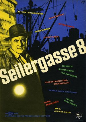 "Film poster for ""Seilergasse 8"""