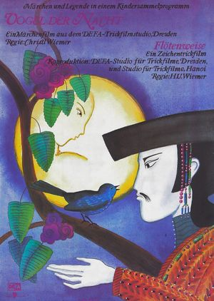 "Film poster for ""Vogel der Nacht"""