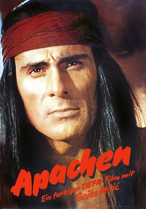 """Film poster for """"Apachen"""""""