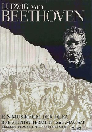 """Film poster for """"Ludwig van Beethoven"""""""