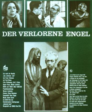 "Film poster for ""Der verlorene Engel"""