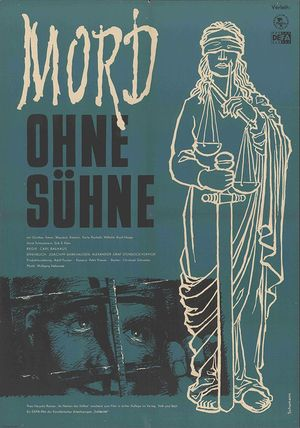 "Film poster for ""Mord ohne Sühne"""