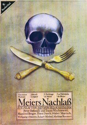 """Film poster for """"Meiers Nachlaß"""""""