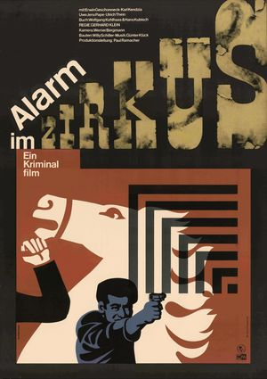 "Film poster for ""Alarm im Zirkus"""