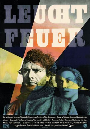 """Film poster for """"Leuchtfeuer"""""""