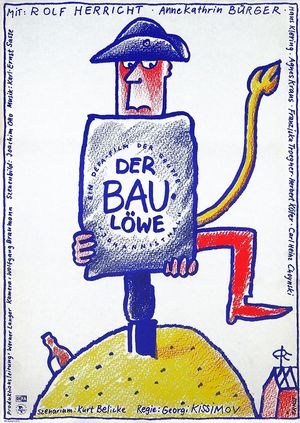 "Film poster for ""Der Baulöwe"""