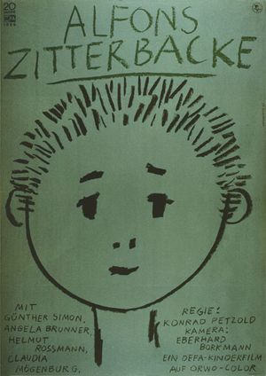 "Film poster for ""Alfons Zitterbacke"""