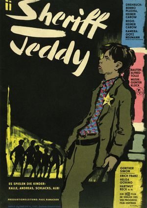 "Film poster for ""Sheriff Teddy"""
