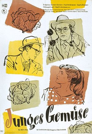 "Film poster for ""Junges Gemüse"""