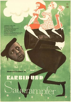 "Film poster for ""Karbid und Sauerampfer"""